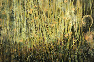 Painting with insects- Night Marsh
